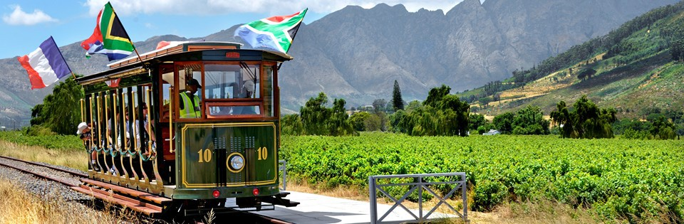 Image result for FRANSCHHOEK WINE TRAM