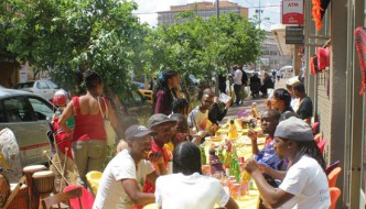 Walking Tour of Maboneng Arts & Crafts Markets
