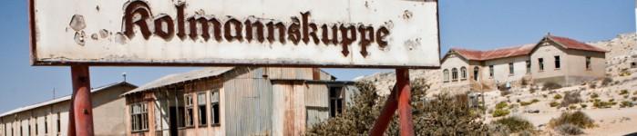 Sandy bygones of Kolmanskop